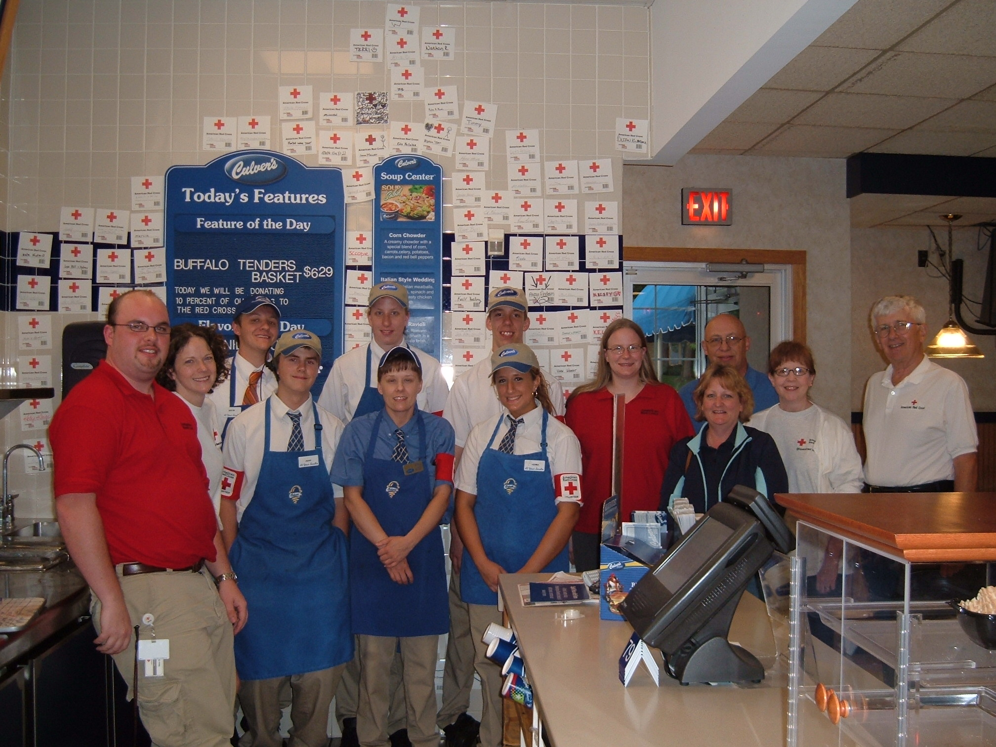 Culver's and Local American Red Cross Chapters Announce Community