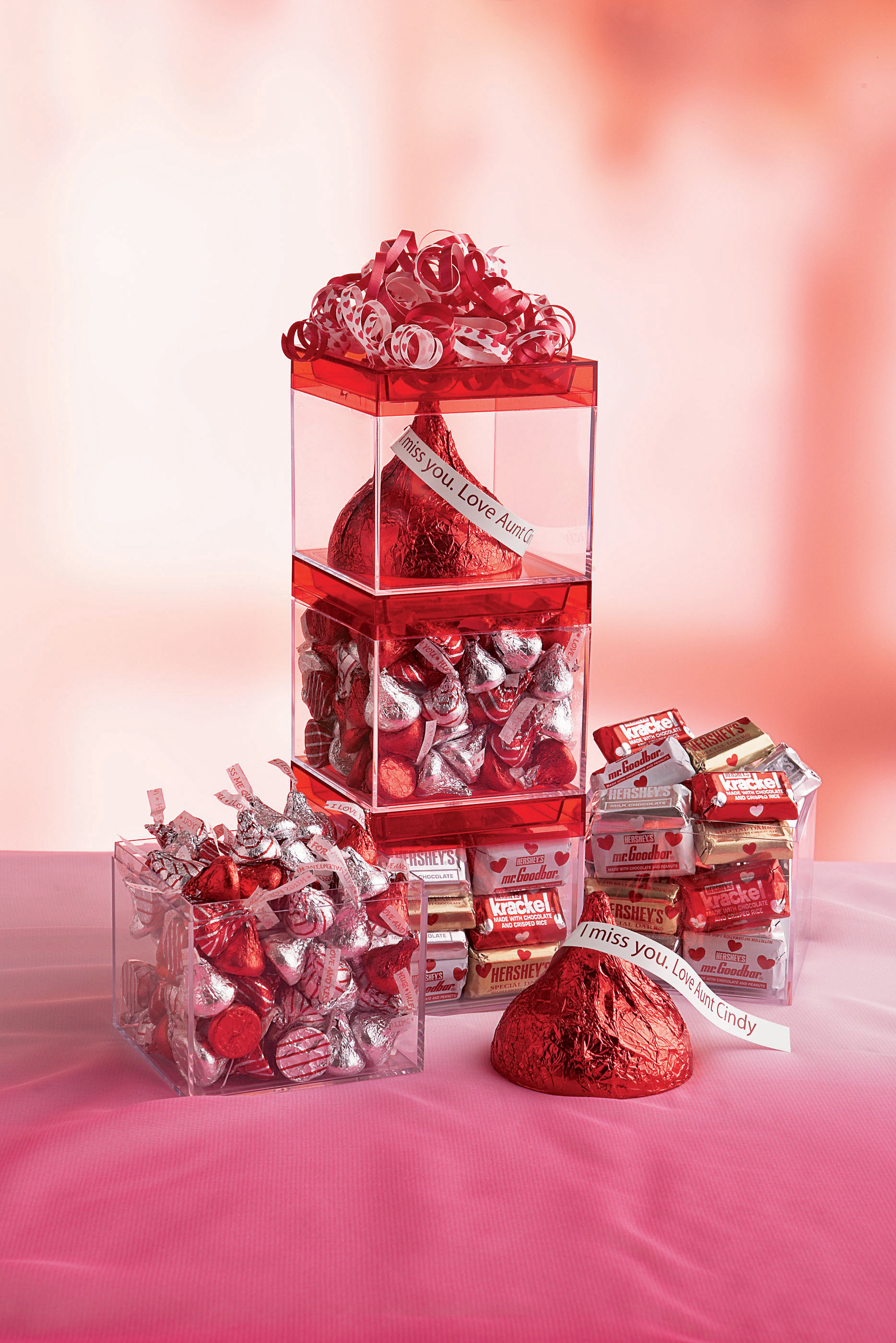 FALL IN LOVE WITH HERSHEY\'S 2009 VALENTINE\'S DAY COLLECTION