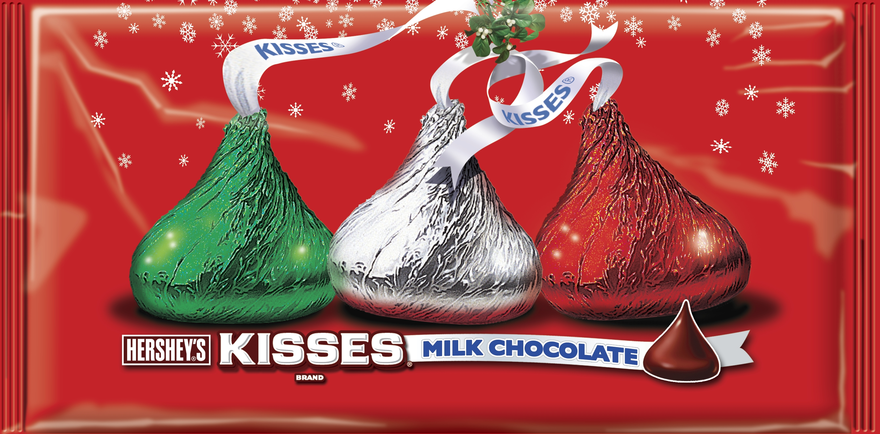 Hershey Christmas Kisses